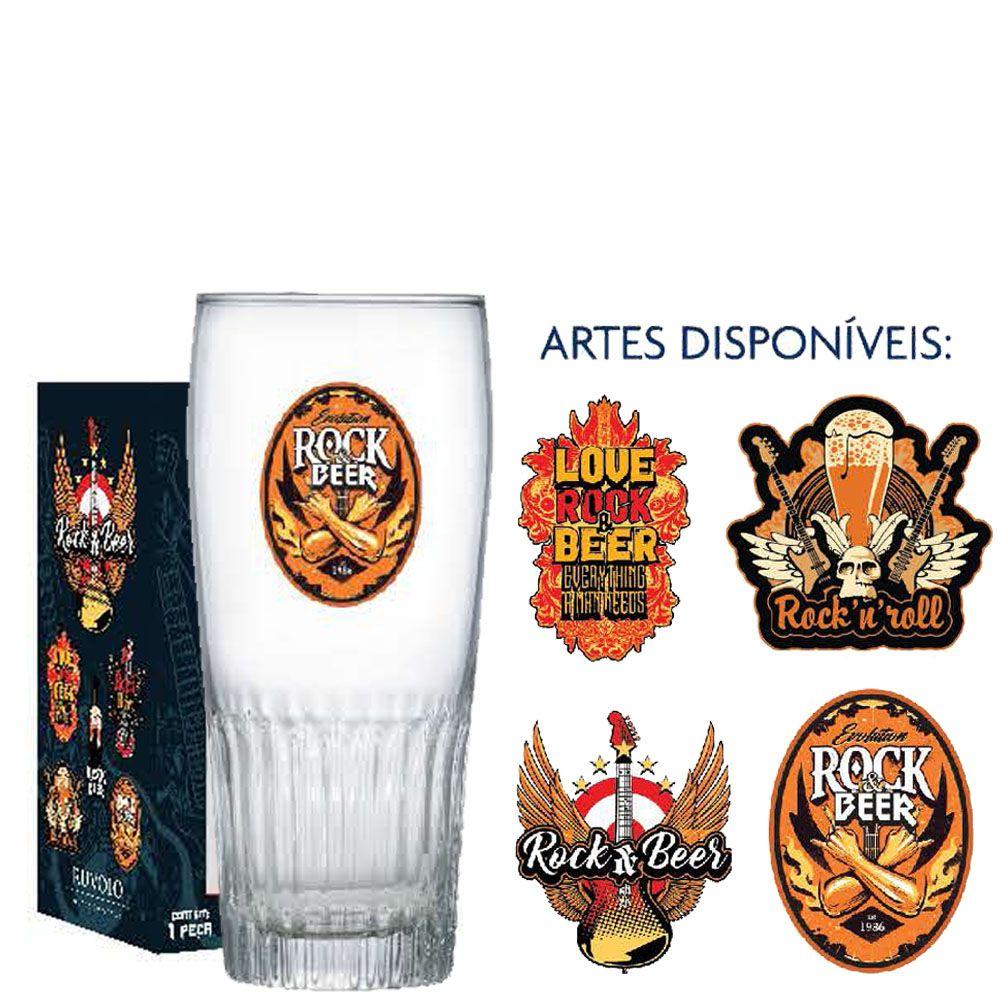 Copo Cerveja de Vidro Paloma G Rock Collection 390ml