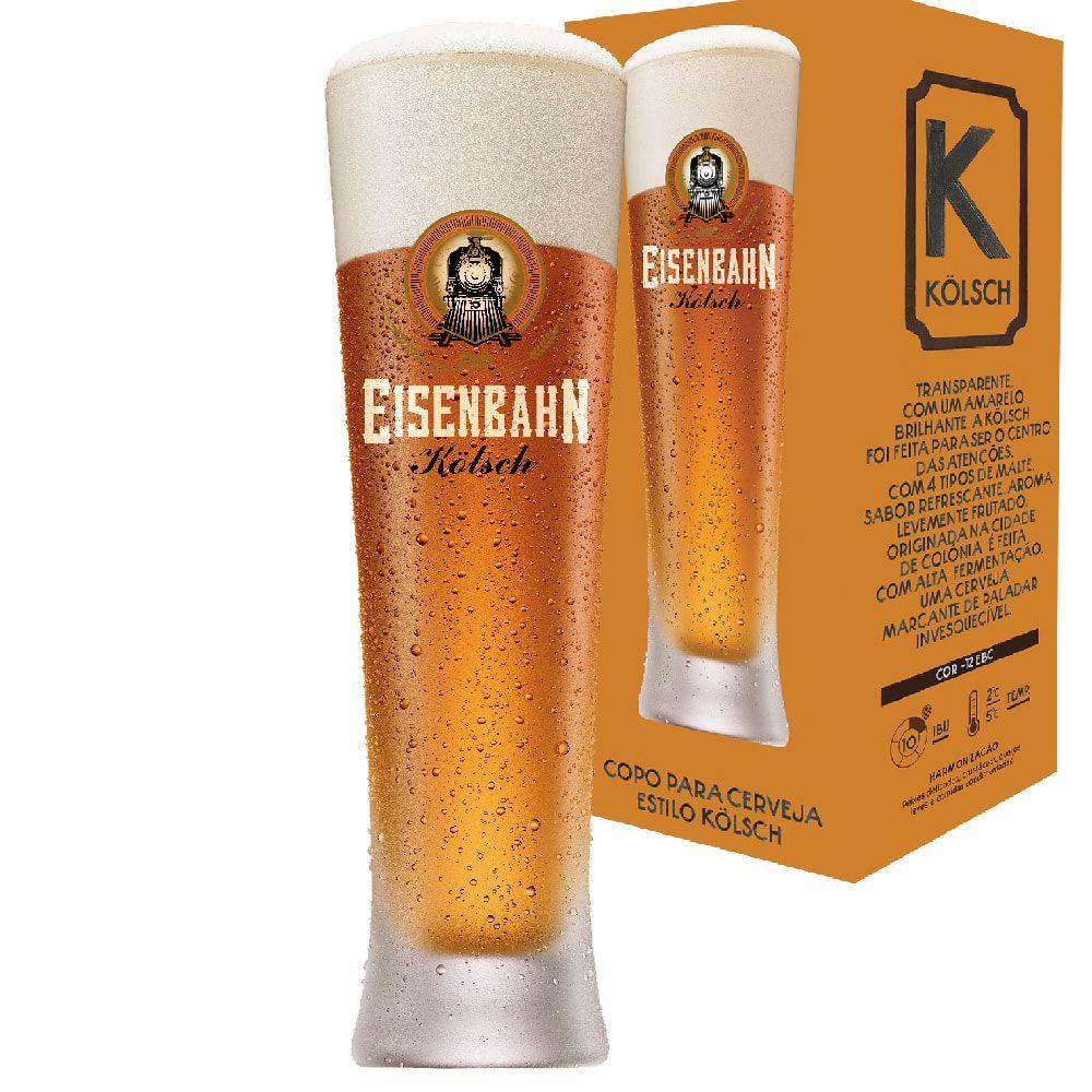 Copo Cerveja Eisenbahn Kolsch Vidro 320ml