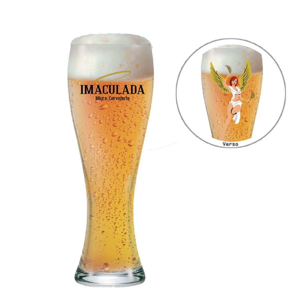 Copo Cerveja Imaculada 400ml de Vidro