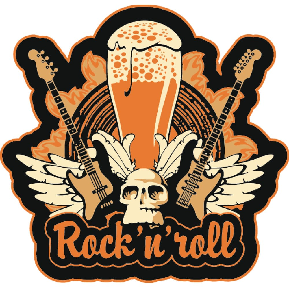 Copo Cerveja Rock Style Wheat Beer 510ml 1 Pcs