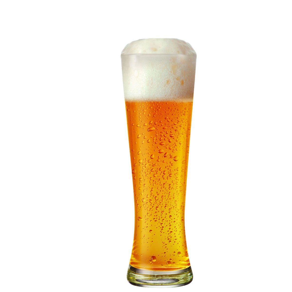 Copo Cerveja - Weiss Poltie M 430ml Conjunto Jogo 4 Pcs