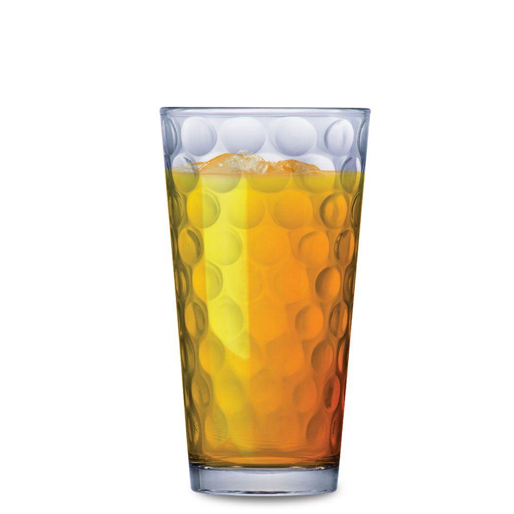 Copo de Água ou Suco Conic Bubbles 415ml 2 pcs