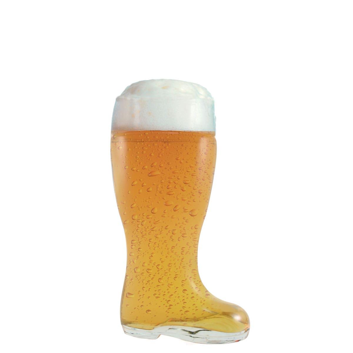 Copo de Cerveja de Vidro Bota Estiefel M 620ml