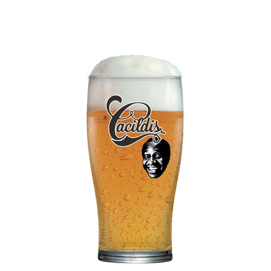 Copo de Cerveja Cacildis Vidro 300ml
