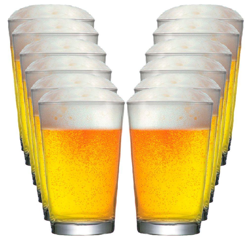 Copo De Cerveja Caldereta M 350ml - Conjunto Jogo 12 Pcs