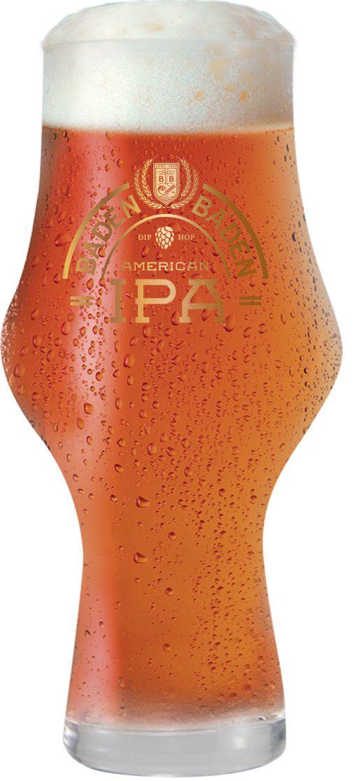 Copo de Cerveja Cristal Baden Baden Ipa 495ml