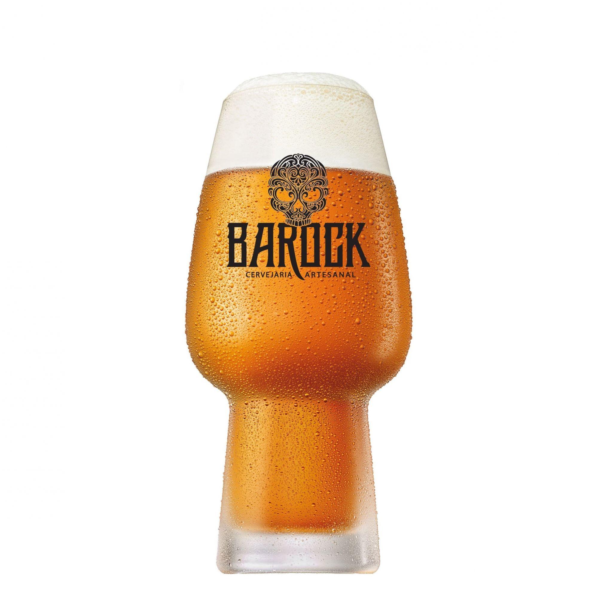 Copo de Cerveja Cristal Craft Beer Barock 400ml