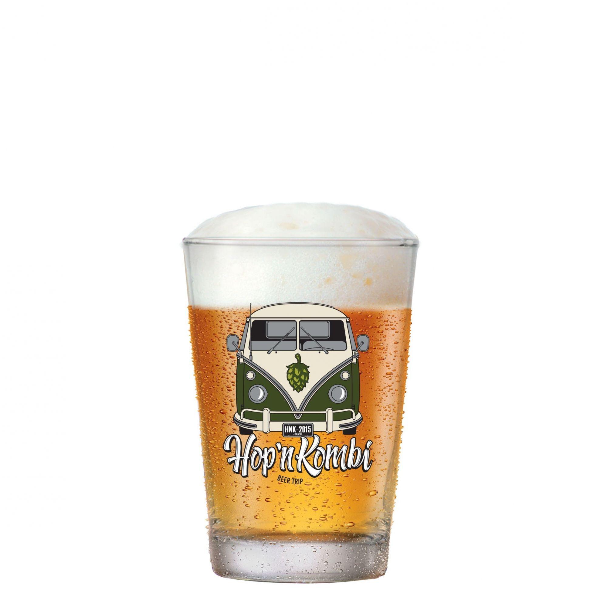 Copo Cerveja de Vidro Caldereta M Hop'n Kombi 325ml