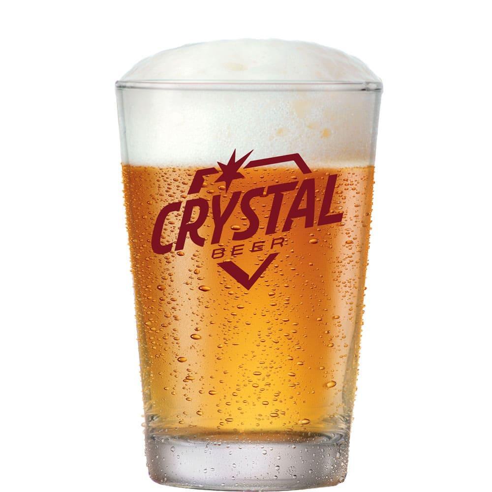 Copo de Cerveja de Vidro Crystal Beer 300ml