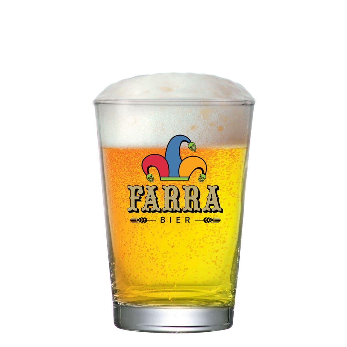 Copo Cerveja de Vidro FARRA Caldereta P 300ml