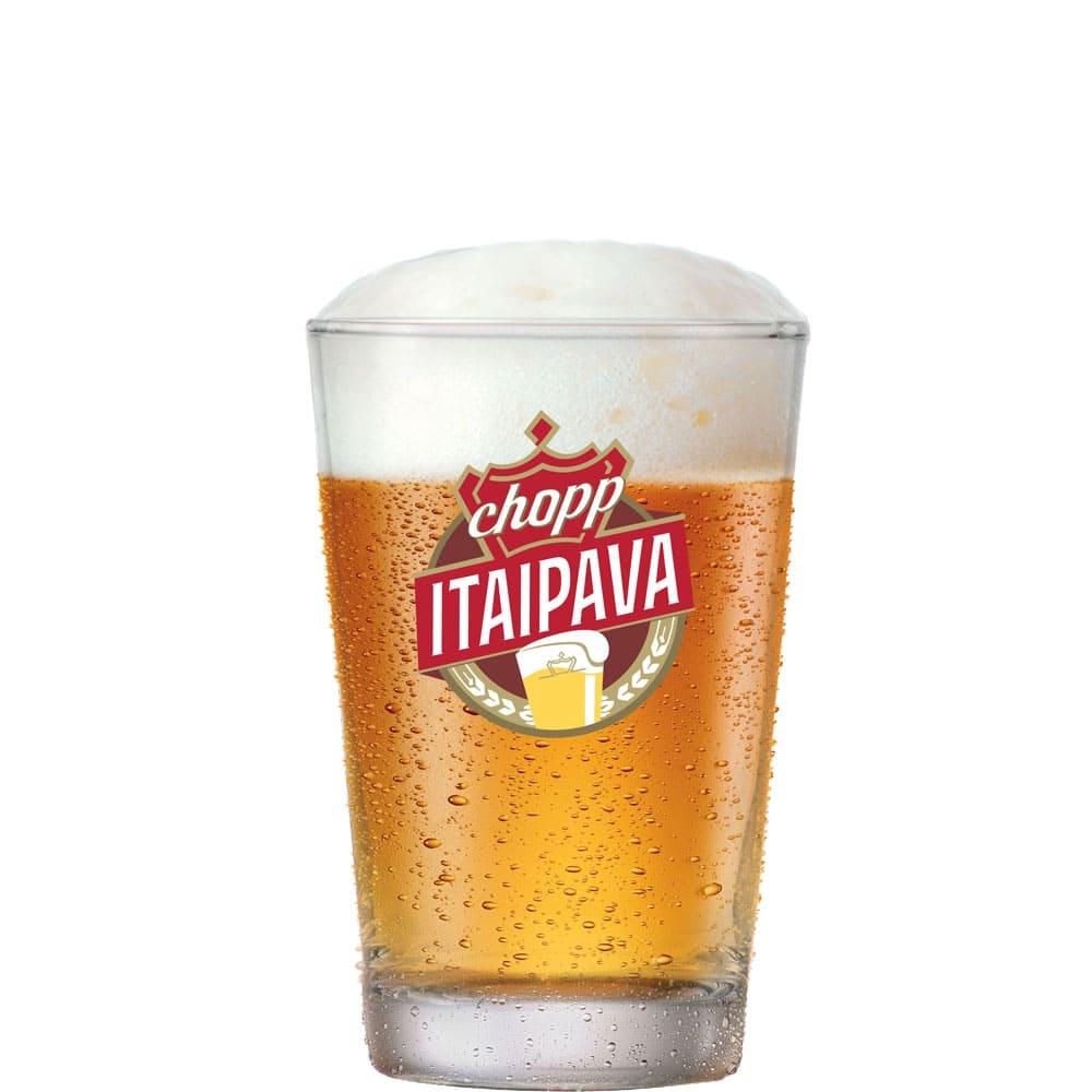 Copo de Cerveja e CHopp Itaipava Caldereta Vidro 300ml