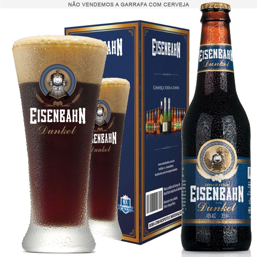 Copo de Cerveja Eisenbahn Dunkel 370ml
