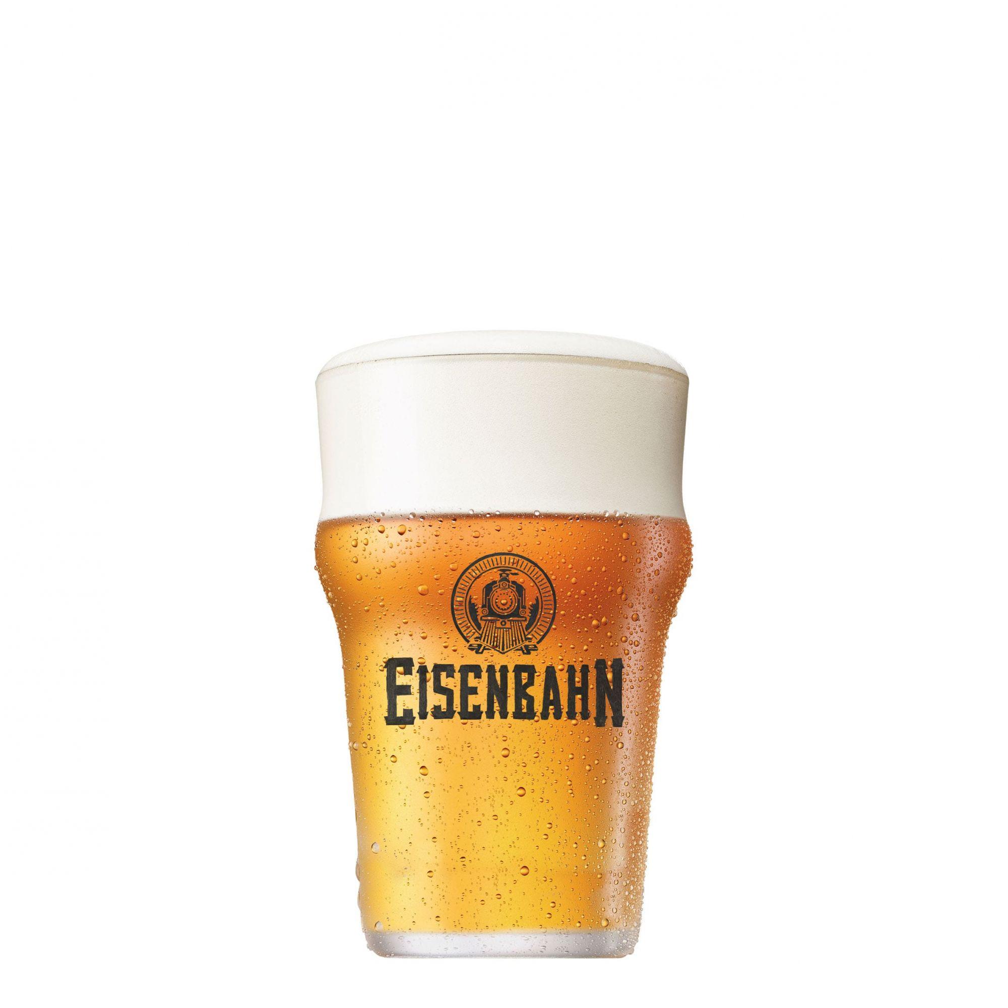 Copo de Cerveja Half Pint Eisenbahn 300ml