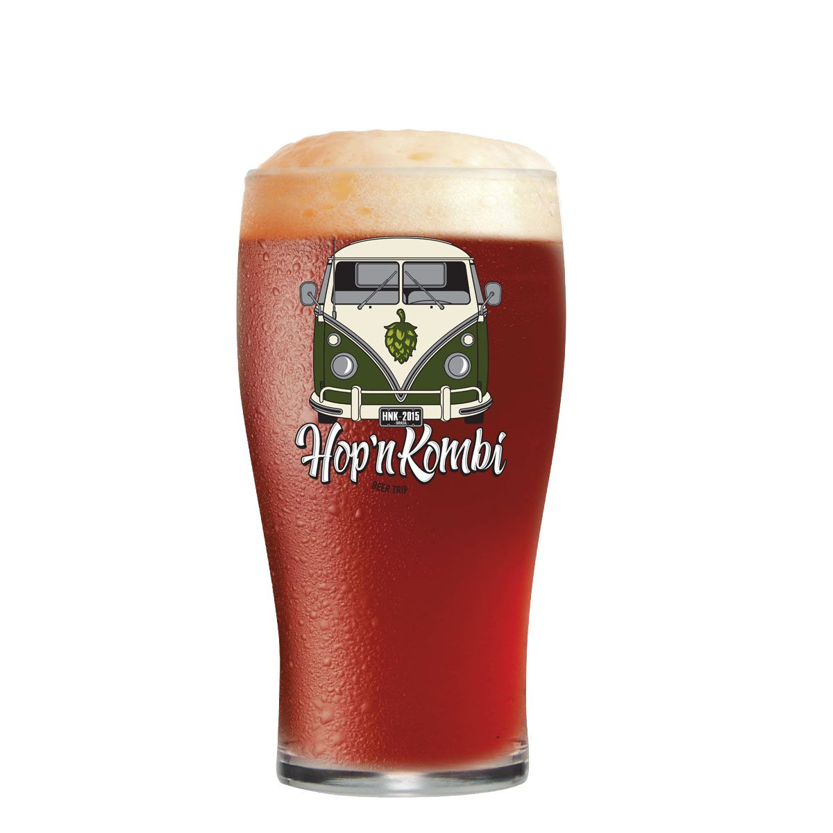 Copo Cerveja Hop'n Kombi Pint IPA 595ml
