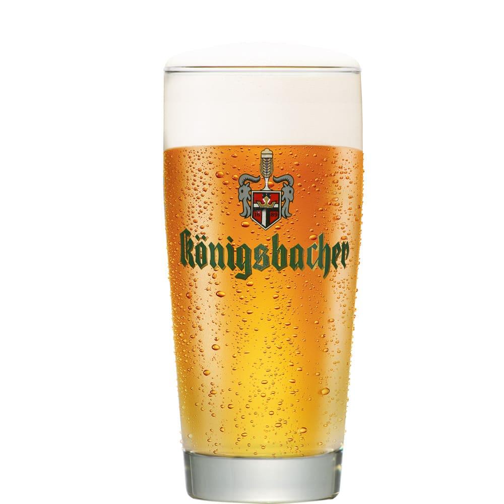 Copo Cerveja Königsbacher 0,2 280ml Coleção Cerveja do Mundo