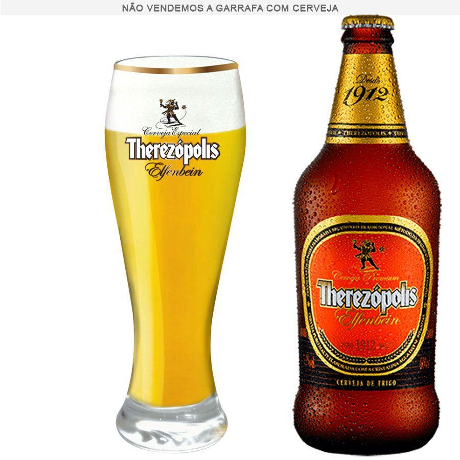 Copo Cerveja Therezópolis Elfenbein Vidro Weiss 675ml