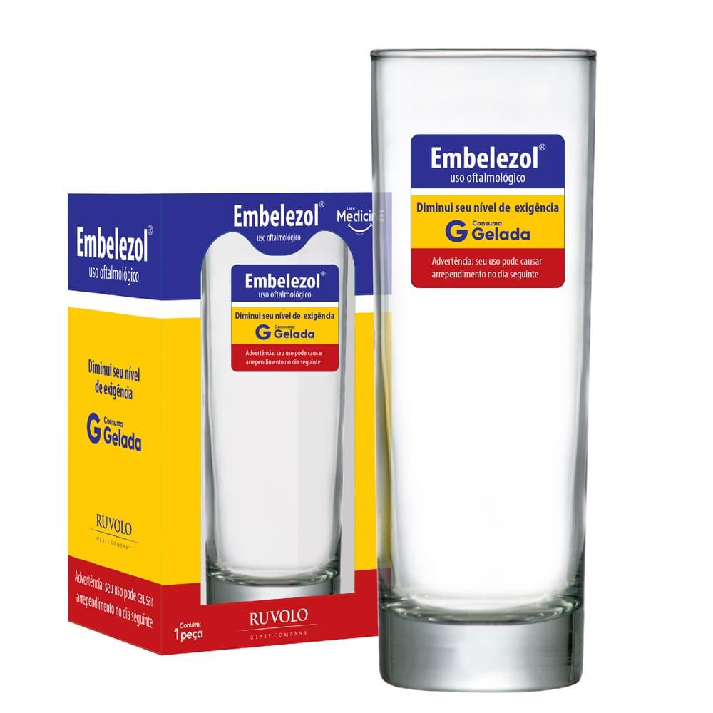 Copo Cerveja Tubo Linha Medicine 300ml