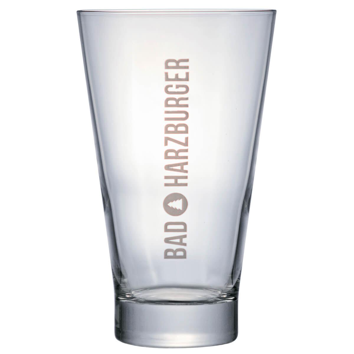 Copo de Cerveja Vidro Bad HarzBurger 480ml