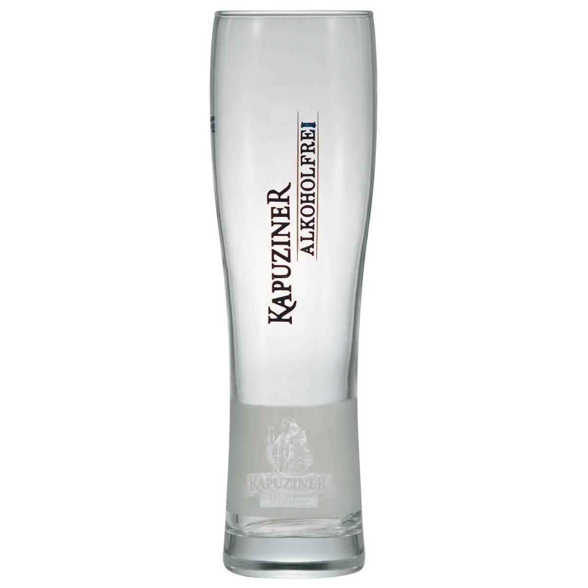 Copo de Cerveja Vidro Kapuziner 600ml