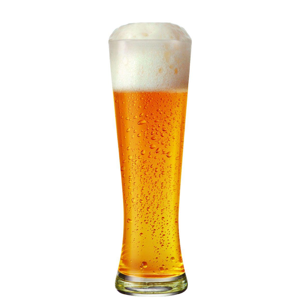 Copo de Cerveja Vidro Weiss Polite G 685ml