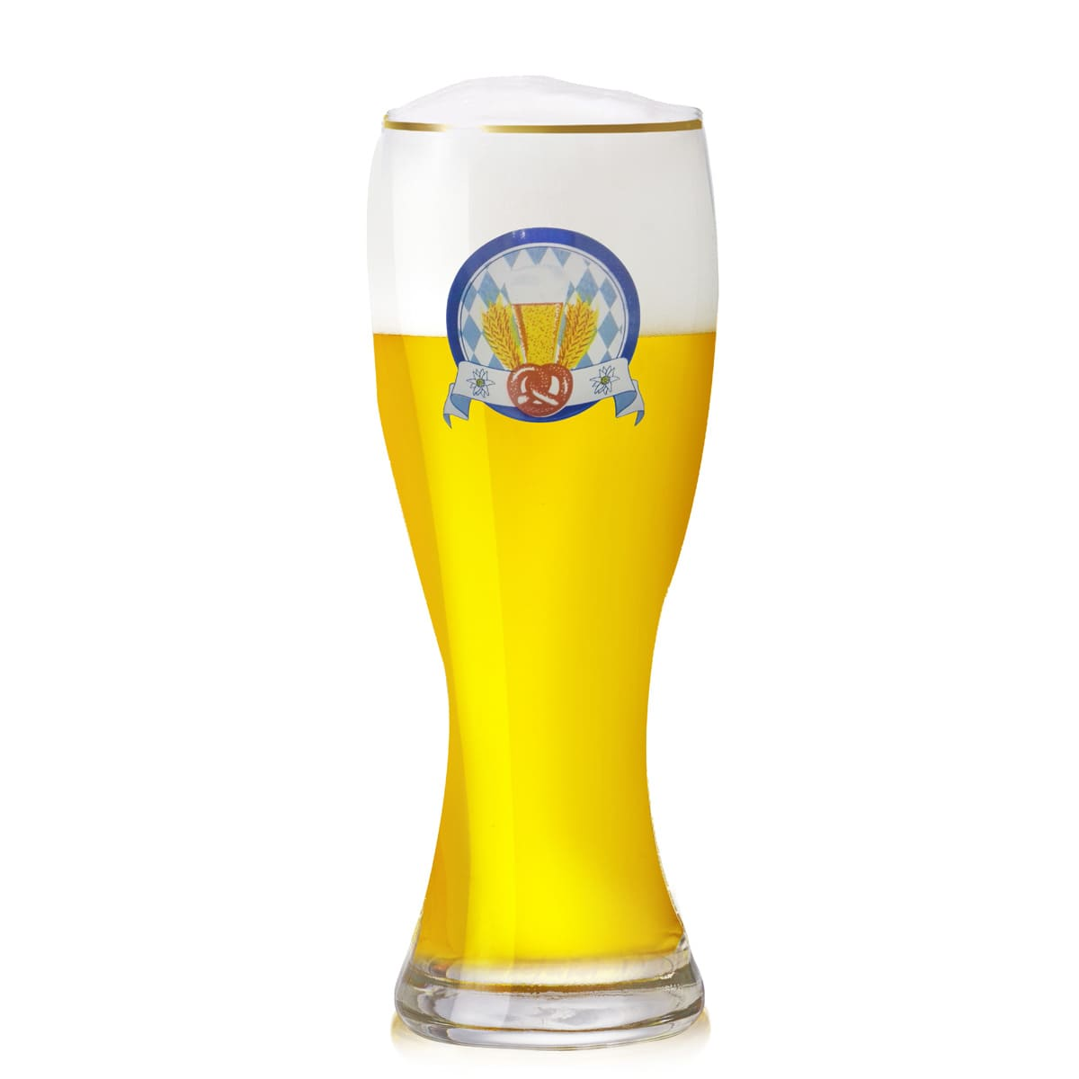 Copo de Cerveja Weiss Bavaro 600ml Vidro
