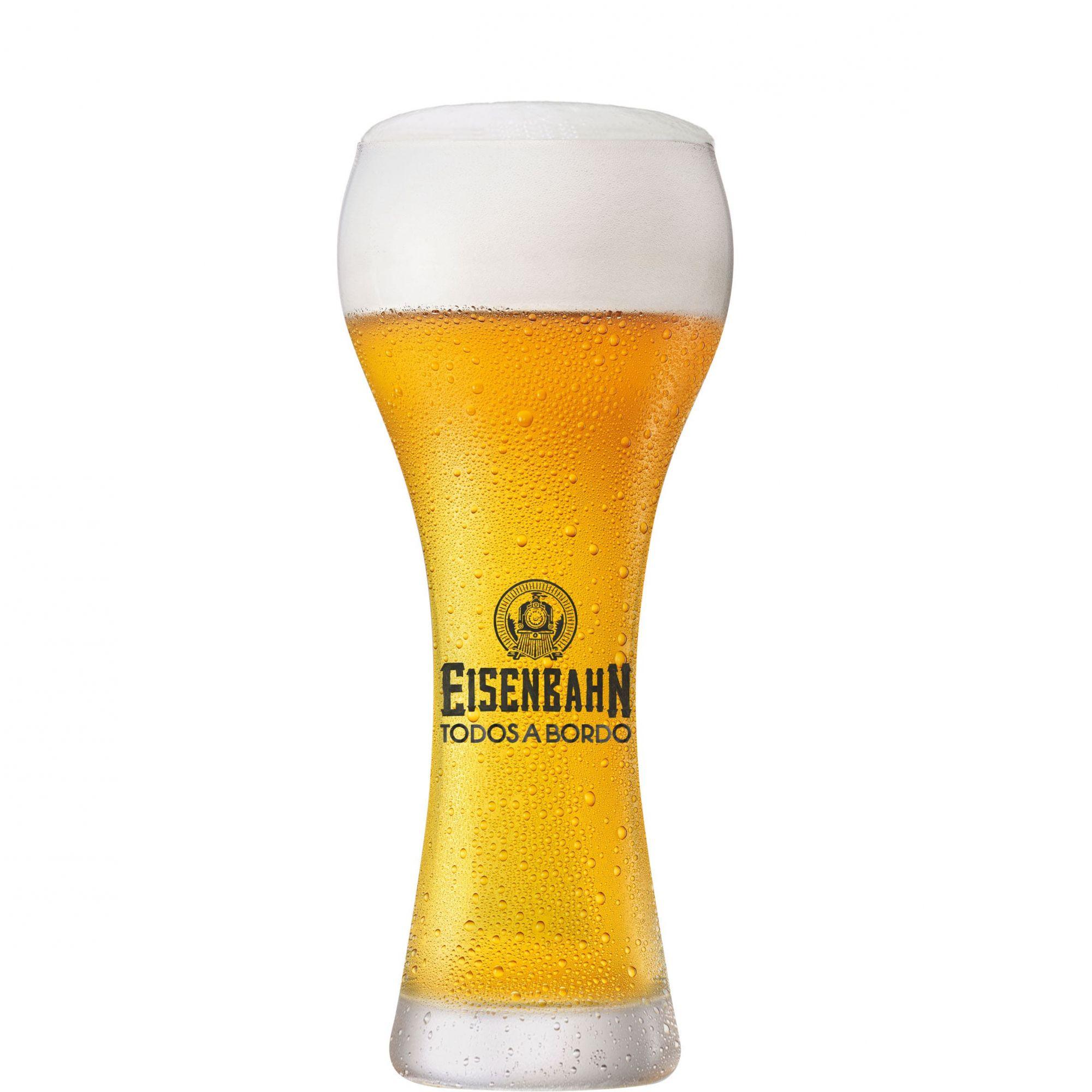 Copo Cerveja Weiss Eisenbahn Todos a Bordo 360ml