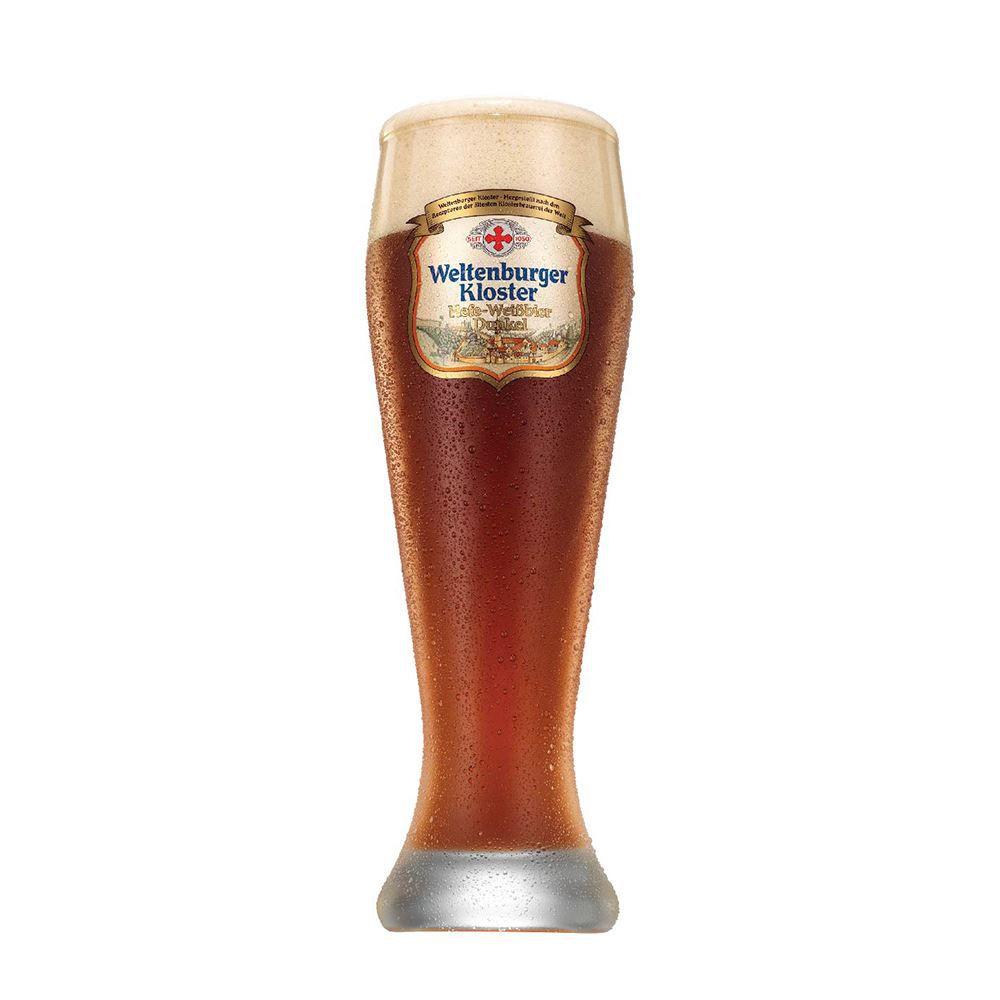 Copo de Cerveja Weltenburger Hefeweissbier Dunkel 665ml