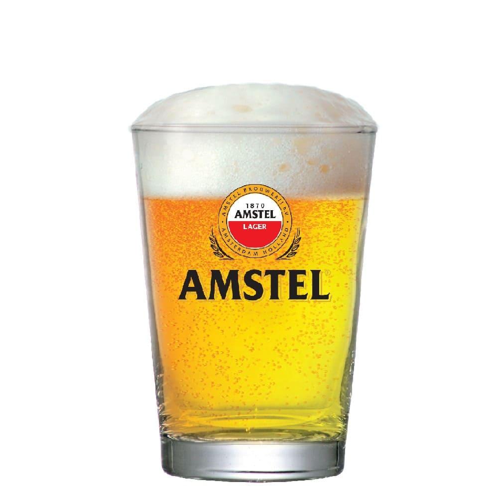 Copo de Vidro Cerveja Amstel 350ml Caldereta