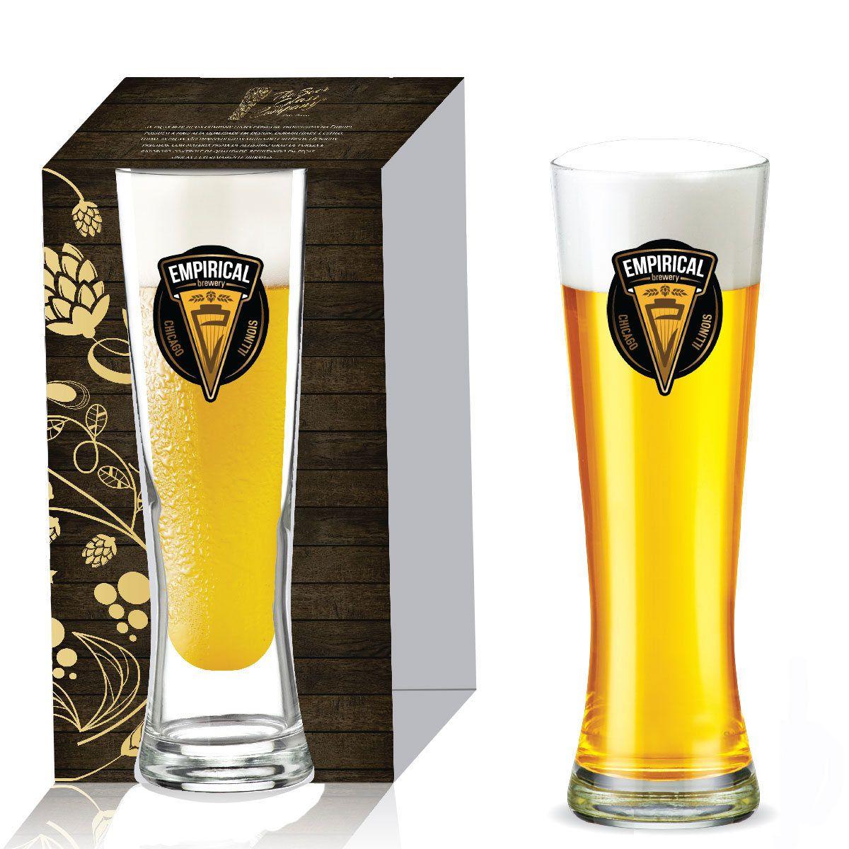 Copo de Vidro para Cerveja Polite de 680m