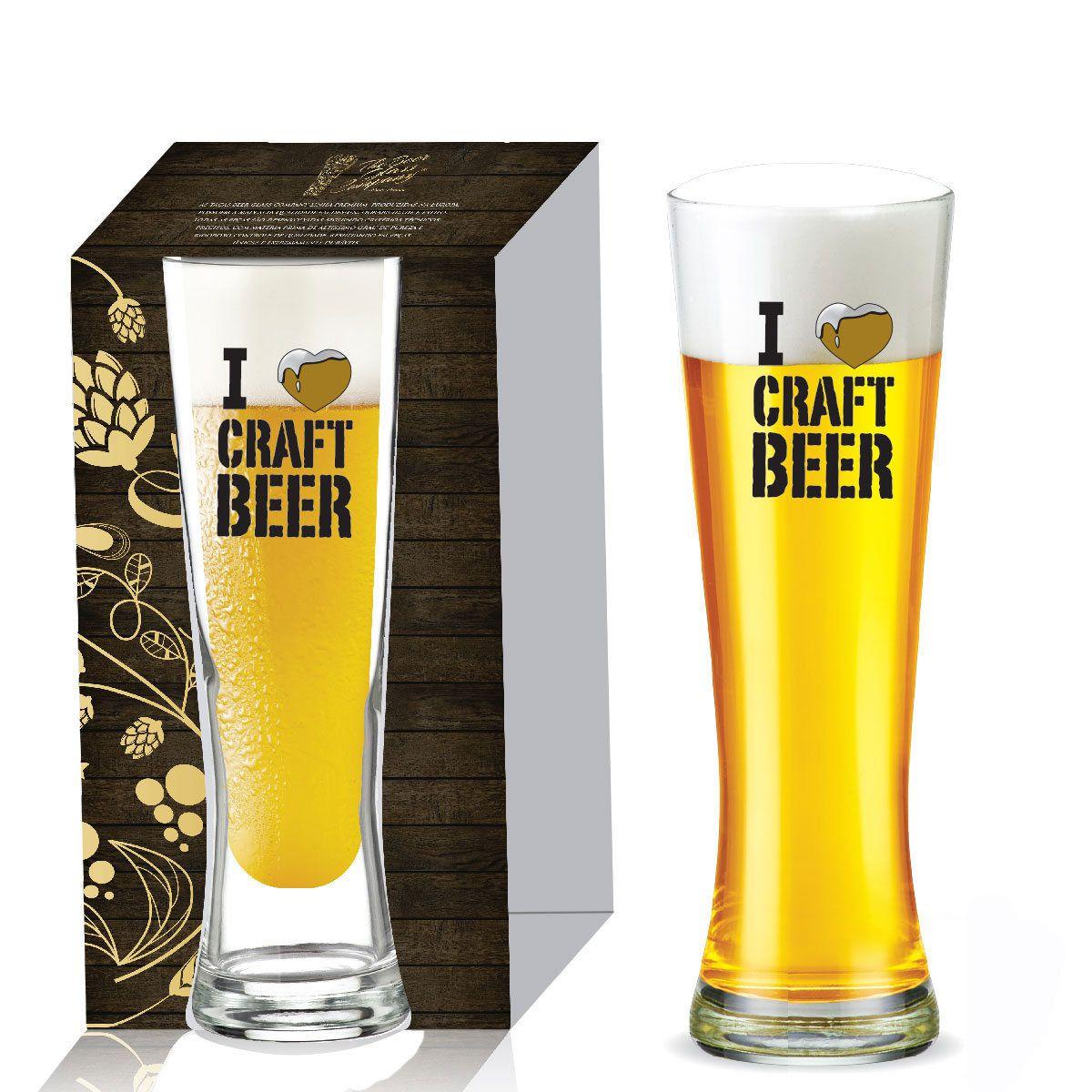 Copo de Vidro para Cerveja Polite de 680ml