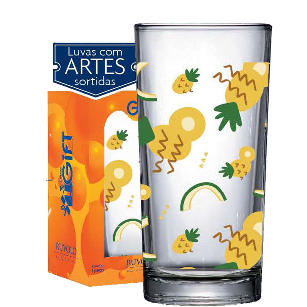 Copo Multiuso Long Drink 260ml Abacaxi