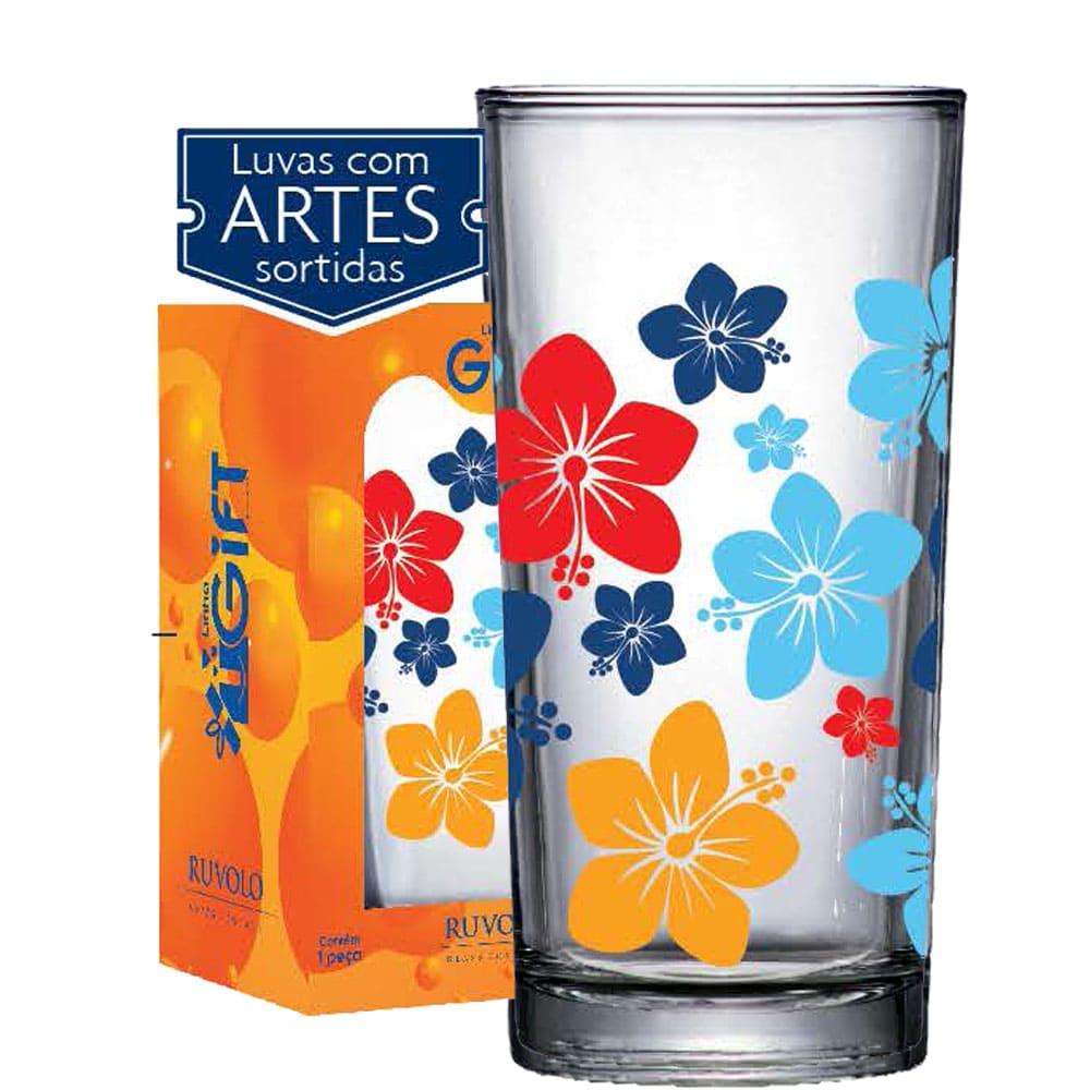 Copo Multiuso Long Drink 260ml Flores