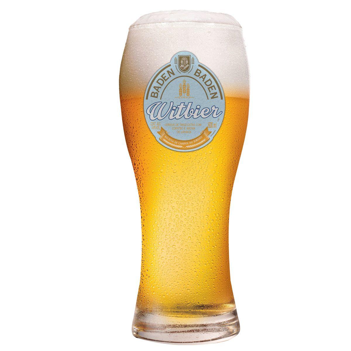 Copo para Cerveja Baden Baden Witbier Vidro 495ml