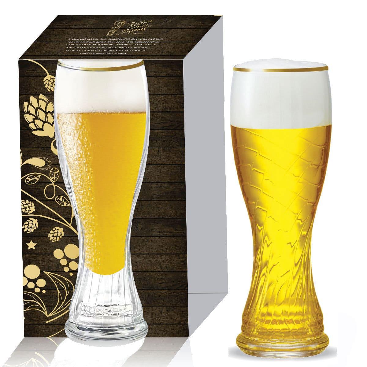 Copo para Cerveja Weiss Schachen Torcido de 710ml