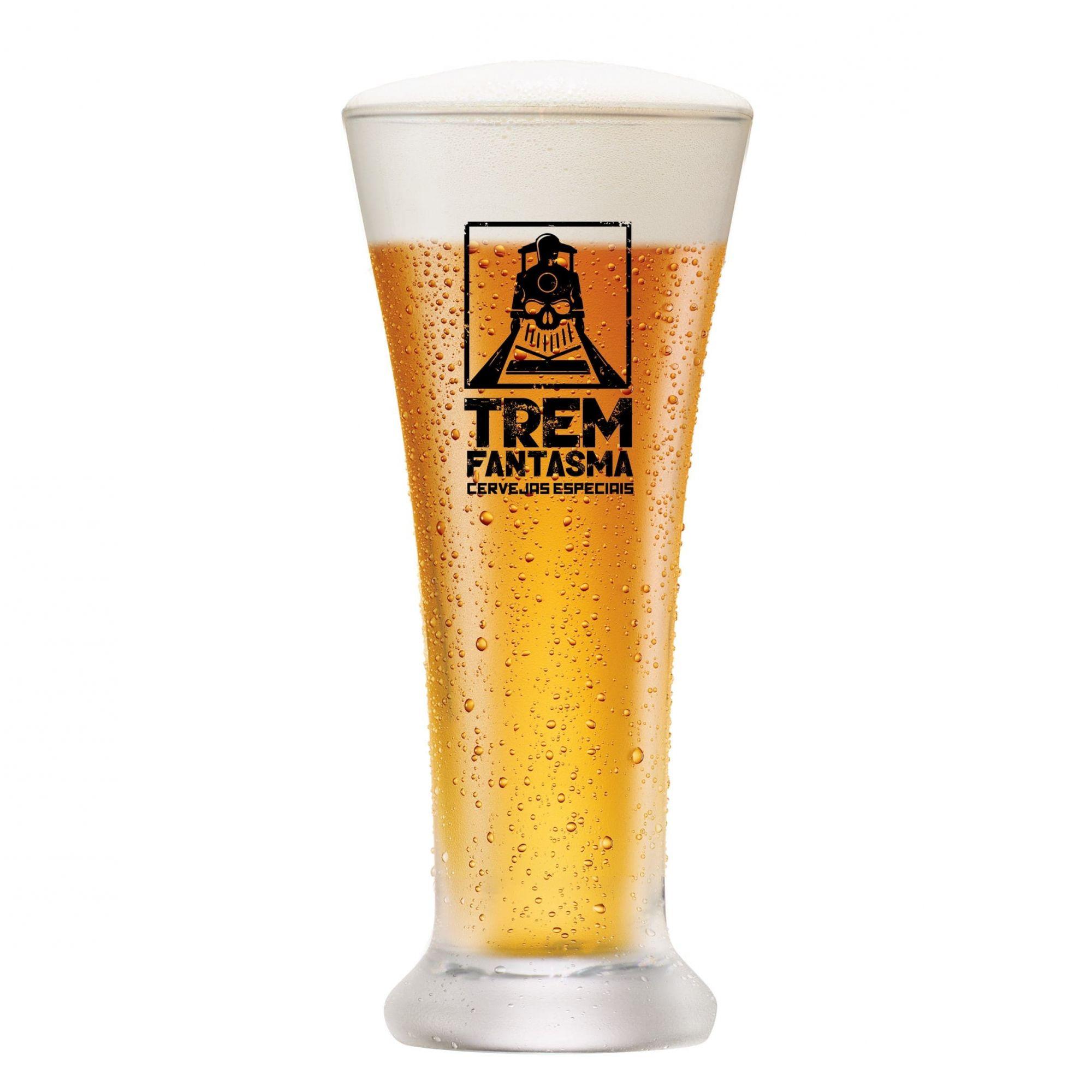 Copo de Cerveja Pilsen - Trem Fantasma 275ml