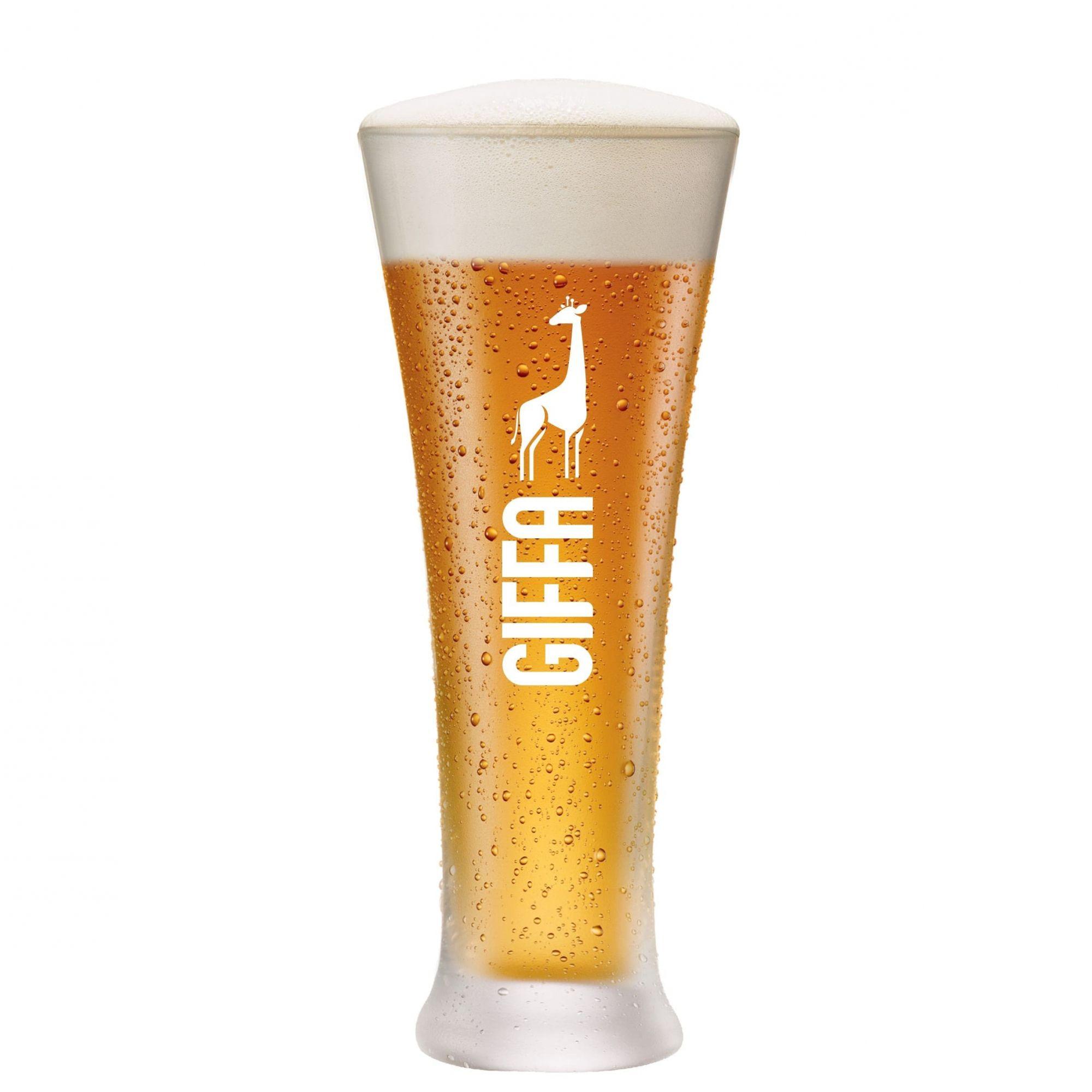 Copo de Cerveja Pilsner GIFFA vidro 400ml
