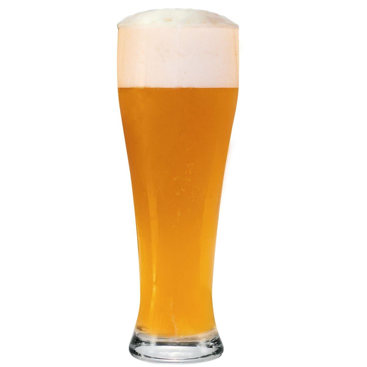 Copo Weiss 600ml Copo Cerveja Vidro Kit c/ 06