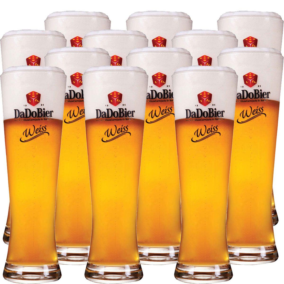Copos De Cerveja - Dado Bier Weiss 720ml c/ 12 Pcs