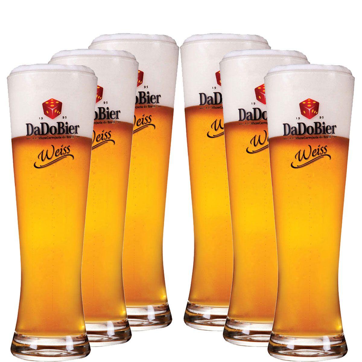 Copos De Cerveja - Dado Bier Weiss 720ml c/ 6 Pcs