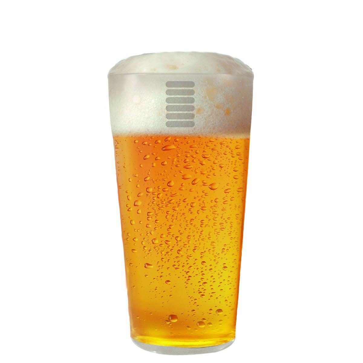 Copos De Cerveja - Hazel De 355ml C/ 4 Unid