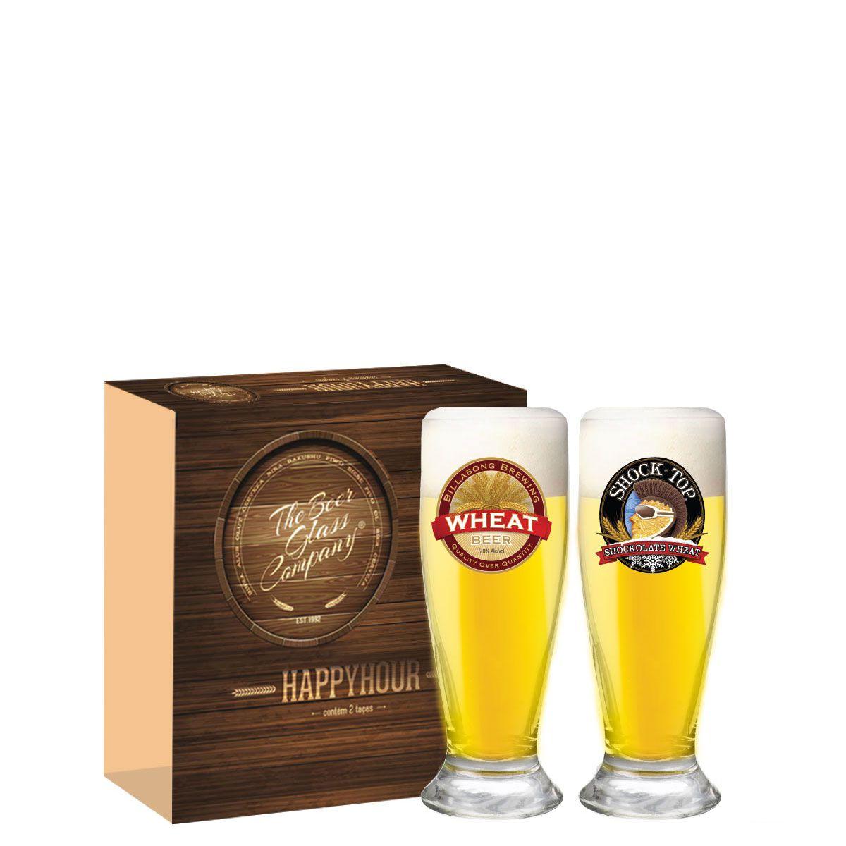 Copos De Cerveja - Madri 200ml C/ 2 Unid