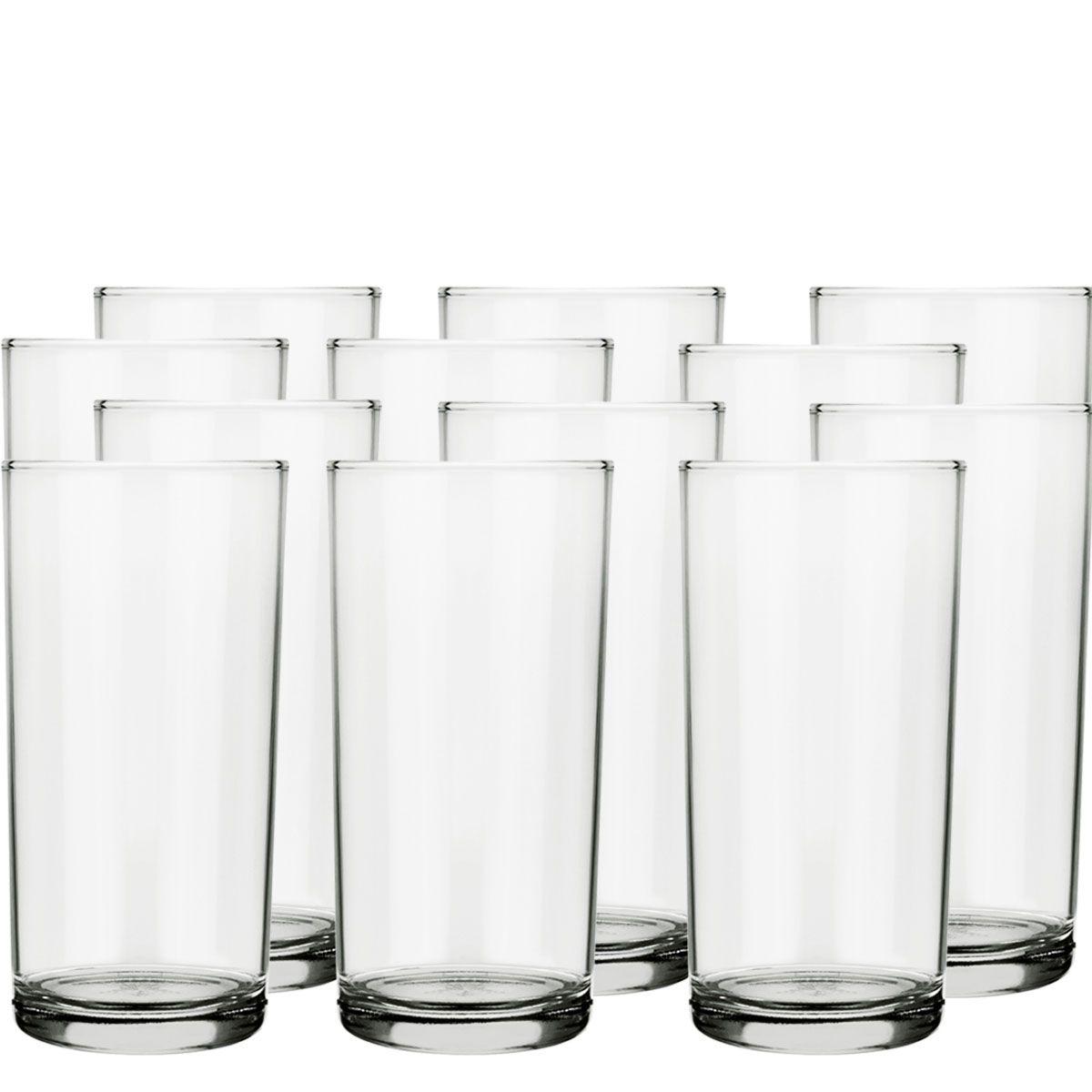 Copos De Suco Ou Água - Cilindro De 300ml C/ 12 Unid