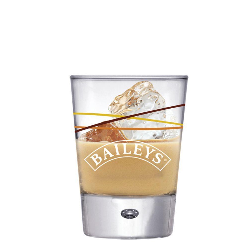 Jogo 3 Copos de Whisky Bayles Vidro 210ml + Copo Brinde