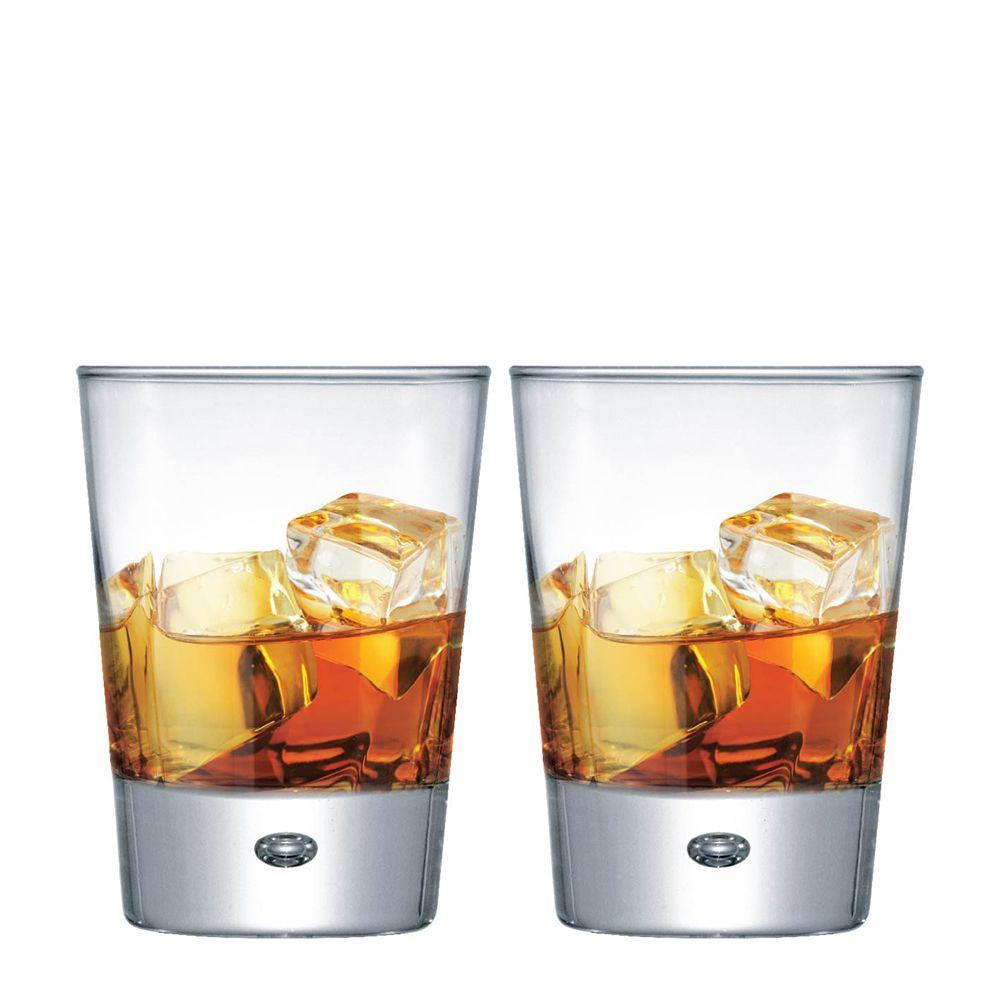Jogo Copos de Whisky Strange On The Rocks Vidro 275ml 2 Pcs