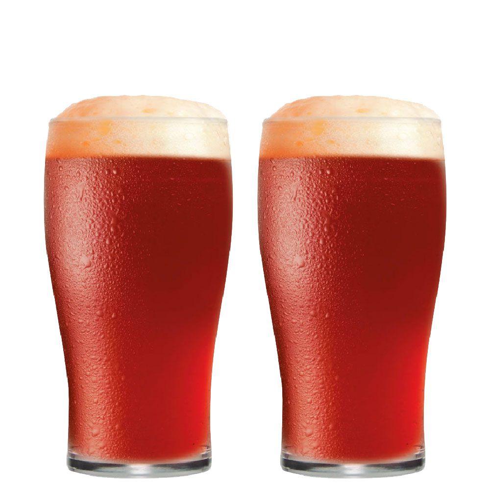 Jogo de Copo de Cerveja Meio Pint IPA 295ml 2 Peças