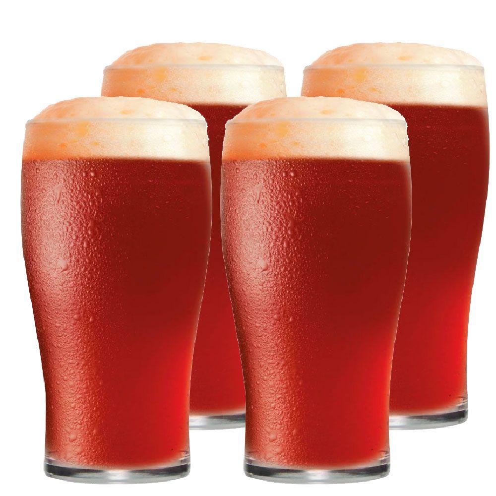 Jogo de Copo de Cerveja Meio Pint IPA 295ml 4 Peças