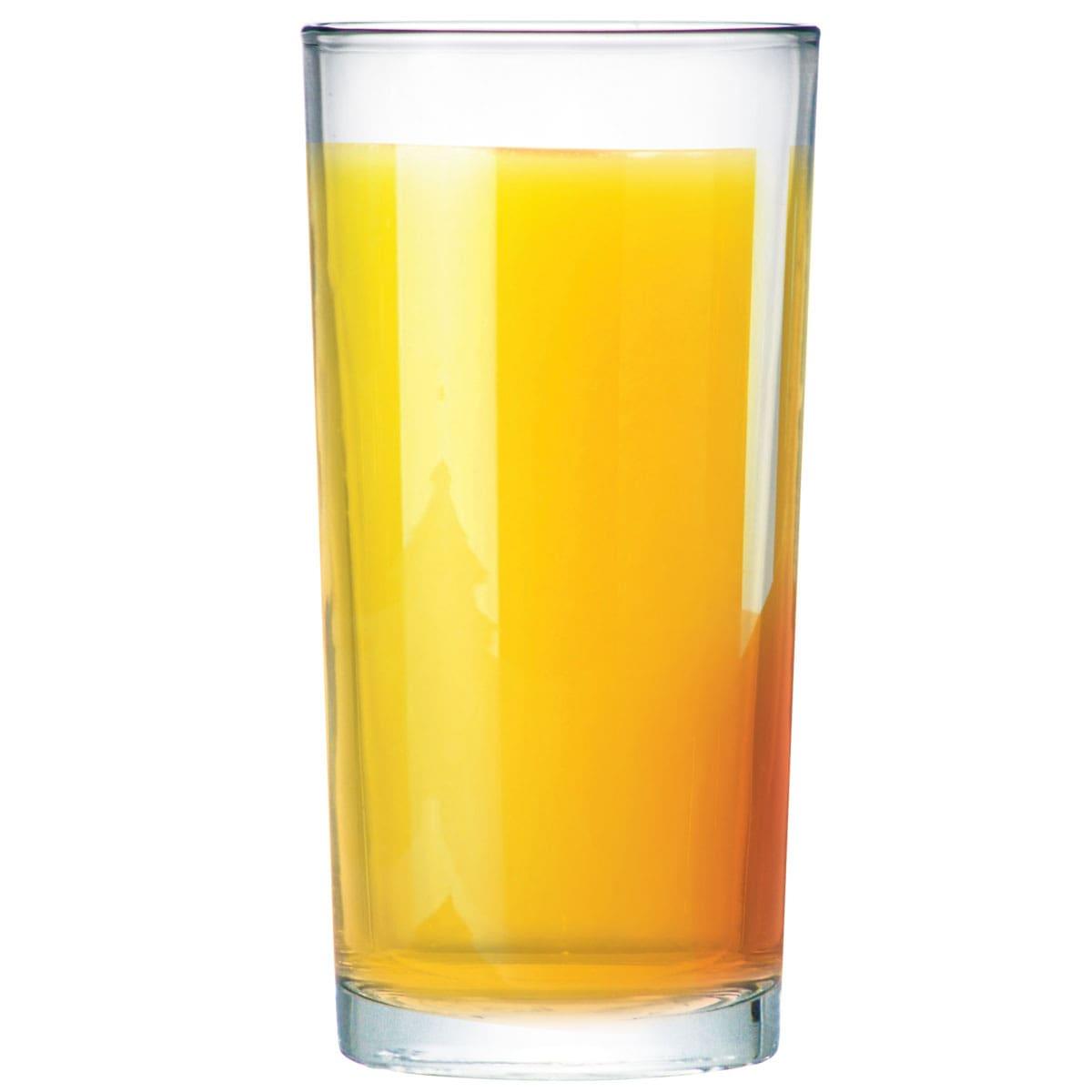 Jogo de Copos de Água Vidro Long Drink Multiuso 4 Pcs