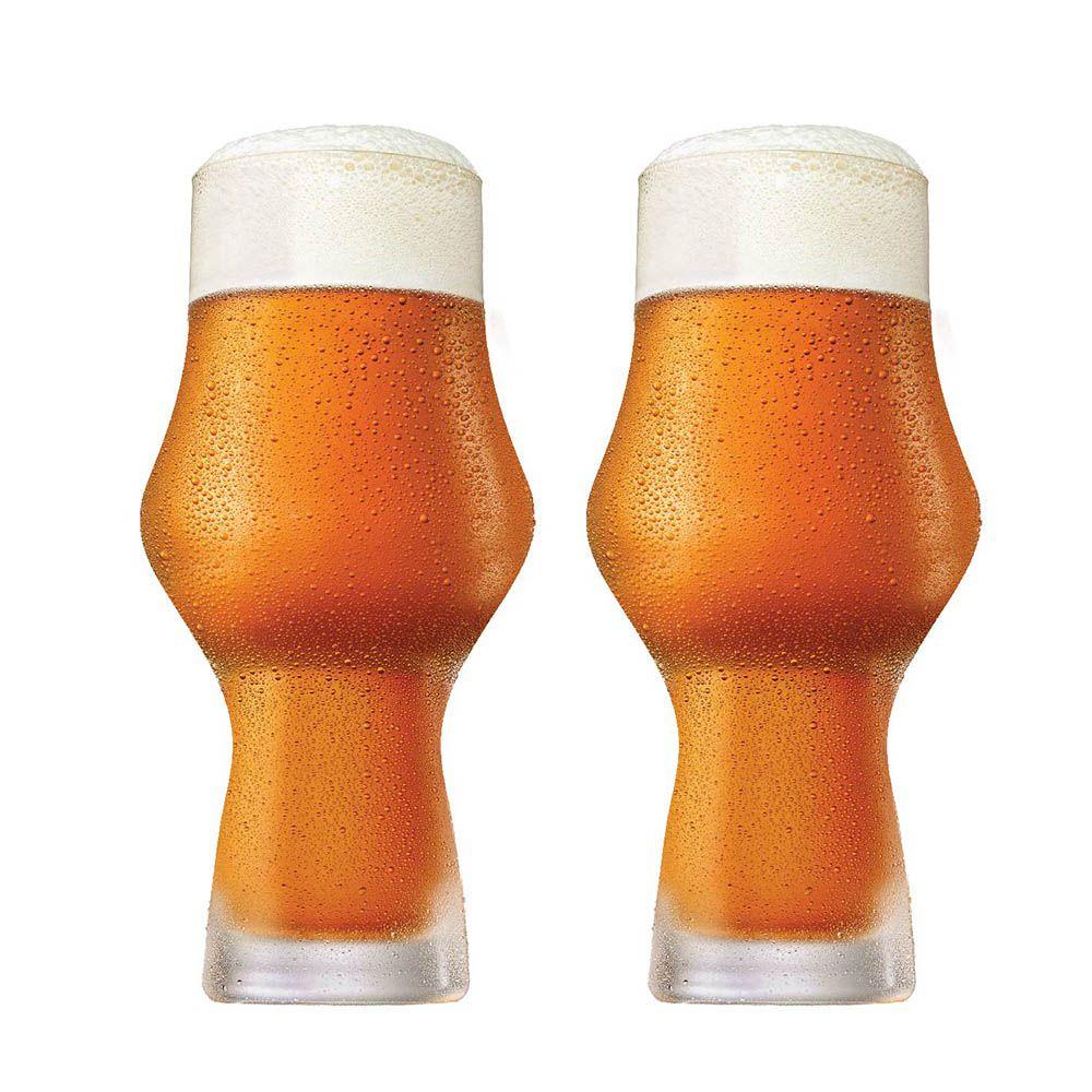 Jogo de Copos de Cerveja Craft Beer Cristal 495ml