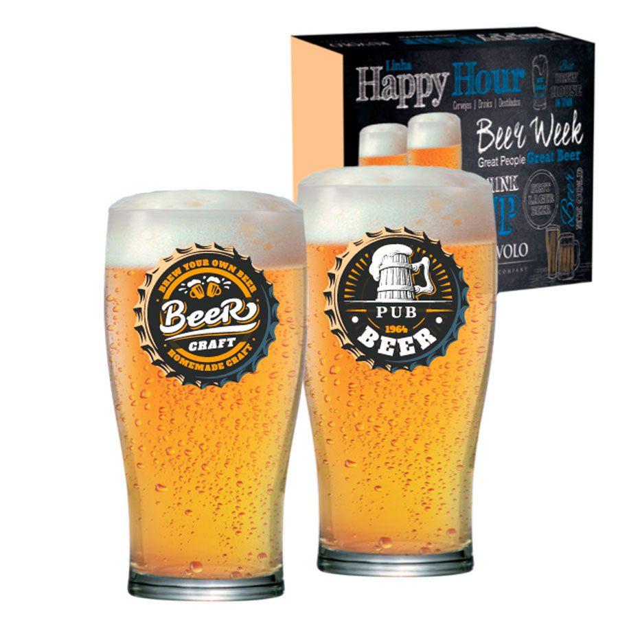 Jogo de Copos de Cerveja HH Pint 568 ml 2 Pcs