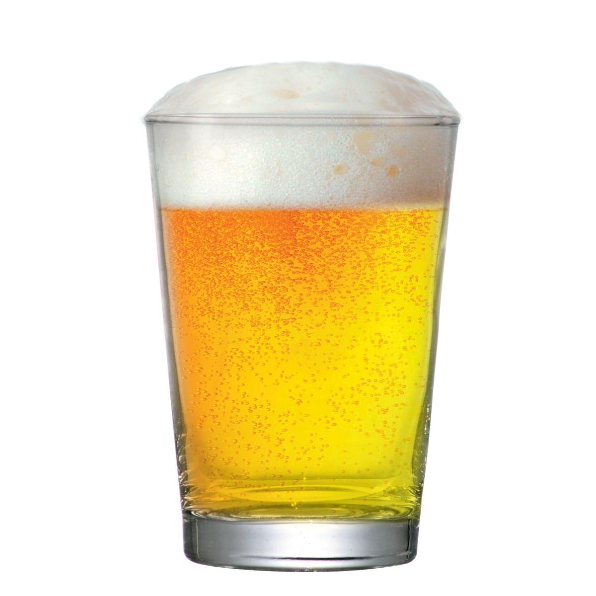 Jogo de  Copos de Cerveja Vidro Caldereta P 300ml 2 Pcs